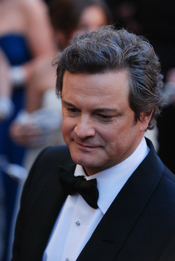 "Colin Firth walks the red carpet at the 83rd Academy Awards Feb. 27, in Hollywood, Calif. Firth would go on to win in the best actor category for his portrayal of King George VI in the film ""The King's Speech."