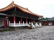 The Confucian Temple on Lotus Lake, in Kaohsiung City, Taiwan