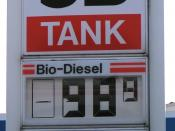 In some countries, filling stations sell bio-diesel more cheaply than conventional diesel.