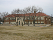 English: Monroe Elementary School - Brown Vs the Board of Education of Topeka, Kansas national historic site.