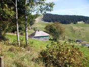 Martin Heidegger Hütte über Rütte, Todtnauberg; Heidegger's mountain hut