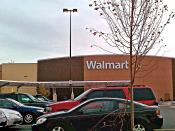 English: A 205,000sq. ft. remodeled Walmart Supercenter in Laurel, Maryland. This Walmart underwent an extensive renovation and conversion from a standard store, to a supercenter, in 2010. The renovation added 47,000sq. ft. of space, to the store.