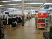 English: Inside the Walmart (still branded as Wal-Mart) at West Plains, Missouri.