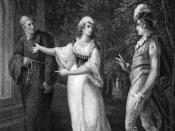 English: Scene from the play