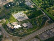 English: Aerial photo of the General Mills corporate headquarters campus, Golden Valley, Minnesota, USA.