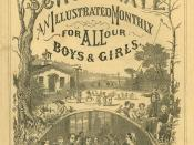 Student and Schoolmate cover August 1867