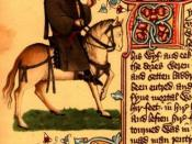 Geoffrey Chaucer, whose Canterbury Tales shares many sources with various Decameron tales, including IX, 6.