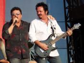 from Toto Moondance Jam concert 7/14/07. Photo by Matt Becker