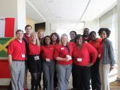 UGA students at ASAP conference