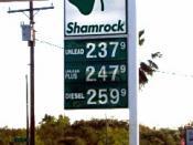 Shamrock gas station, a division of Valero EC