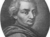 Cesare Beccaria (1738 - 1794) was one of the greatest writers of the Italian Age of Enlightenment.