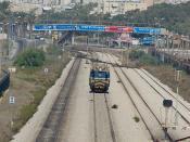 Israel Railways Locomotive - Hof HaCarmel Haifa
