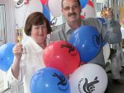 Lottery Winners Barbara and Michael Ayres