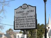 Harriet Jacobs Marker