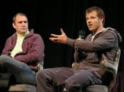 Matt Stone and Trey Parker at The Amazing Meeting on January 20, 2007