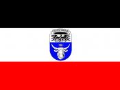 English: Proposed flag of German Southwest Africa (Namibia).