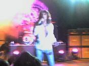 David Coverdale singing with Whitesnake in Ljubljana, Slovenia in Summer 2006