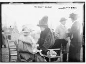 Mrs. August Belmont; Aug. Belmont; and Mrs. Butler Duncan  (LOC)