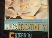 A photo of the cover MegaCreativity: 5 Steps to Thinking Like a Genius by Andrei Aleinikov, published by John Wiley and Sons, Singapore, 2003
