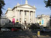 Tate Britain gallery which houses works by Donald Rodney and Sonia Boyce