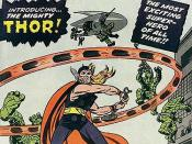 Journey into Mystery #83 (Aug. 1962): the debut of Thor. Cover art by Jack Kirby and Joe Sinnott.