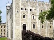 English: White Tower, Tower of London, England. Category:Tower of London Category:Images of London