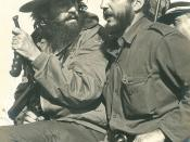 English: Fidel Castro and Camilo Cienfuegos, Havana, January 8, 1959 Deutsch: Fidel Castro und Camilo Cienfuegos in Havanna, 8. Januar 1959
