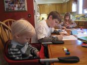 Homeschooling - Gustoff family in Des Moines 020