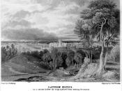 Lathom House at the time of the Civil Wars