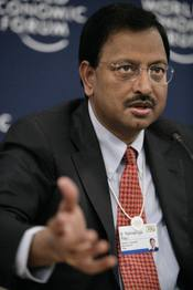 Ramalinga Raju, Founder and Chairman, Satyam Computer Services, India