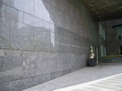 English: Exterior shot of the south entrance to the American Association for the Advancement of Science in Washington, DC.