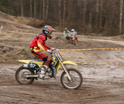 English: Competitor in Yyteri SM Motocross 2010 -competition in Yyteri.