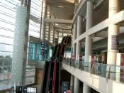 Interior view of the Hong Kong Convention and Exhibition Centre Second Phase