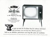1956 DuMont Television Advertisement Readers Digest April 1956