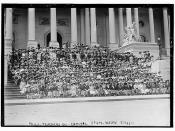 Phila. Teachers on Capitol Steps, Wash., D.C., 5/13/11  (LOC)