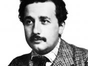 English: German-born theoretical physicist Albert Einstein.