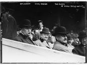 Ban Johnson, Garry Herrman, Thos. Lynch -- World Series N.Y.  (LOC)