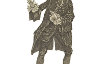 David Garrick in Hamlet, I, 4