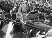 Hitler with von Papen: May 1, 1933