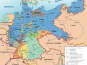 Karte des Deutschen Reiches, »Weimarer Republik/Drittes Reich« 1919–1937 / Map of German Reich, »Republic of Weimar/Third Reich« 1919–1937