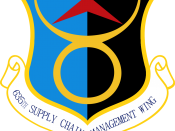 English: United States Air Force 635th Supply Chain Management Wing Emblem. Made with Photoshop.