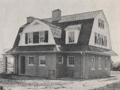 1804 Roxbury Road, Rear View, by F. F. Glass Company, 1918