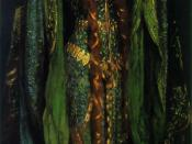 Ellen Terry as Lady Macbeth by John Singer Sargent (1889). Oil on canvas, 87 x 45 in (221 x 114.3 cm), Tate Britain, London.