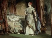 Lady Macbeth by George Cattermole.