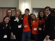 Auburn University students at ASAP conference