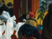 English: Edward Hopper's New York Restaurant