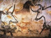 Photography of Lascaux animal painting {| cellpadding=