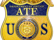 English: Badge of the Bureau of Alcohol, Tobacco, Firearms and Explosives