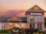 A McDonalds location in Moncton (mountain road). I took the picture and touched it up in Photoshop CS3 myself.