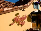 Mimi's Cafe (commonly called Mimi's) is a restaurant chain based in California with 144 locations throughout the United States. Mimi's Cafe is a wholly owned subsidiary of Bob Evans Farms, Inc.